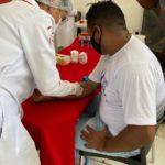 Realização de exames durante o Novembro Azul, na Aço Maranhão
